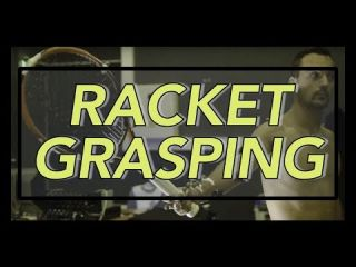 Embedded thumbnail for grasping racket