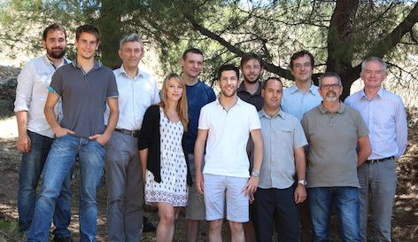 Photo équipe Biorobotique